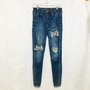 American Eagle Outfitters Distressed Jeans